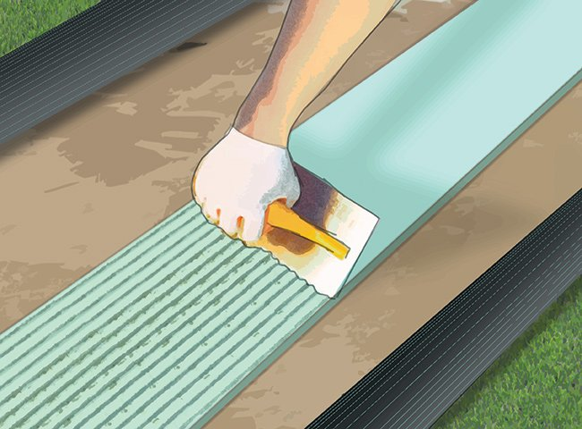 INSTRUCTIONS FOR LAYING ARTIFICIAL TURF 9