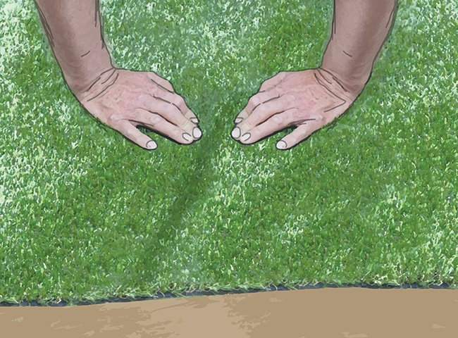 INSTRUCTIONS FOR LAYING ARTIFICIAL TURF 11
