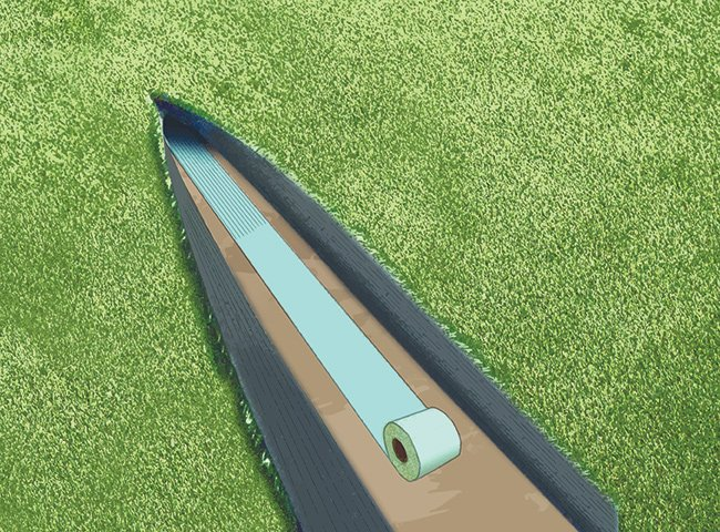 INSTRUCTIONS FOR LAYING ARTIFICIAL TURF 8
