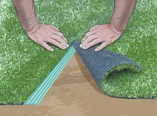 INSTRUCTIONS FOR LAYING ARTIFICIAL TURF 10