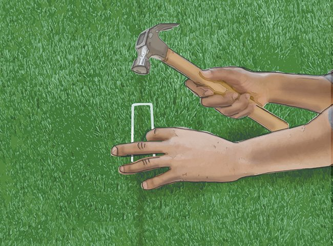 INSTRUCTIONS FOR LAYING ARTIFICIAL TURF 12