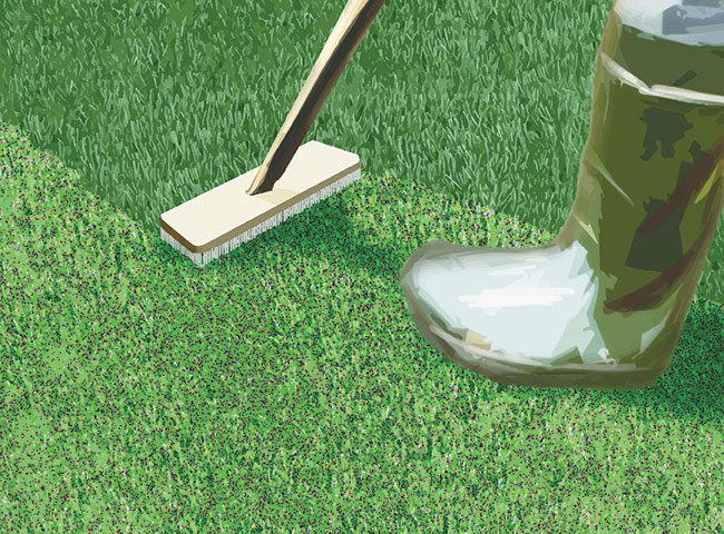 INSTRUCTIONS FOR LAYING ARTIFICIAL TURF 14